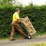 uskladnění palivového dřeva