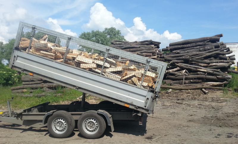 palivové dřevo ceník
